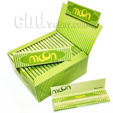Moon 60 booklets 108*45mm King Size Slim Pure Hemp Cigarette Rolling Papers