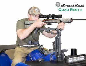 SmartRest - Quad Rest II - Quad Bike and UTV Gun Rest and Storage Rack