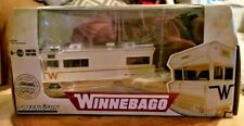 Greenlight 1973 Winnebago Chieftain RV Boat & Trailer 1:64 Diecast Green Machine