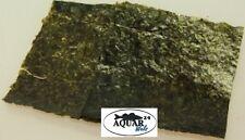 Algenblätter 12 Stück ca. 9,5x10,5 cm Garnelen Süßwasser Bodenbewohner