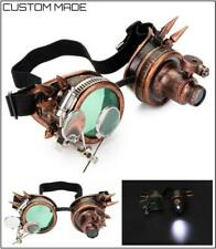 Vintage Steampunk Cyber Punk Gothic Mad Max GOGGLES Glasses Costume Party Prop