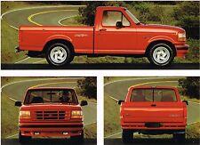 1993 Ford F-150 LIGHTNING PickUp Truck Brochure : SVT.....NOS