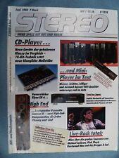 STEREO 6/88,PIONEER CT 939,DYNAUDIO CONTOUR 2,FINE ARTS A 9000,DUAL CV 441 RC