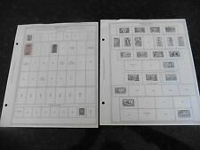 F42 Lot of French Sudan F West Africa stamps Minkus binder Stamp pages 1894-1945