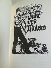 Conrad Felixmüller, Originalgraphik, Das Jahr des Malers, Kunst, Holzschnitte