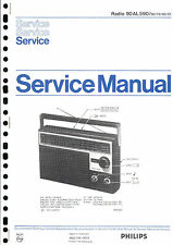 Philips Original Service Manual für 90 AL 590