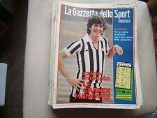 LA GAZZETTA DELLO SPORT ILL=N°15 1981=FRANCESCO MOSER