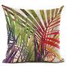 Natural Plant Pillow Case Cotton Linen Sofa Throw Cushion Cover Home Decor
