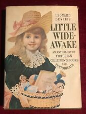 1967 Little Wide Awake Victorian Children's Books Leonard De Vries HC/DJ Book