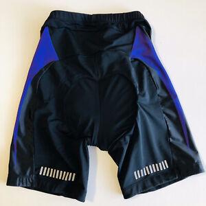Pearl Izumi bicycle Bike Women's Black/purple shorts padded Black  Full Pads SM