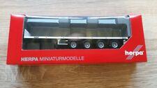 Herpa 076203-006 - 1/87 Teletrailer-Auflieger 4A - Unbedruckt - Weiss - Neu