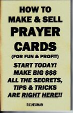 HOW TO MAKE & SELL PRAYER CARDS FOR FUN AND PROFIT book