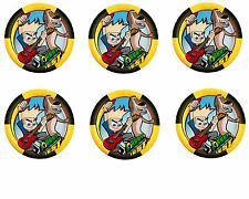 Johnny Test Edible Party Image Cupcake Topper Frosting Icing Sheet Circles