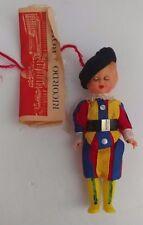 """Vintage Ricordo di Roma Creazioni Anita Italy Sleep Eyes Collectible 5"""" Doll"""