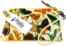 NEW Ladies butterfly pouch bag wristlet purse handmade in Australia HORSEFLY