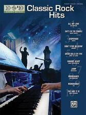 10 For 10 Sheet Music: Classic Rock Hits Piano/Vocal/Chords
