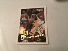 1995-96 TOPPS Kevin Garnett Timberwolves Rookie Card #237 HOF