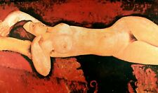 Amedeo Modigliani, Reclining Nude, Offset Plate Signed Lithograph