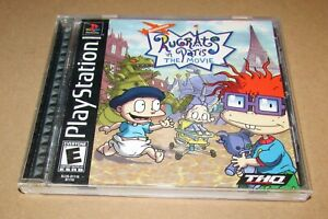 Rugrats in Paris: The Movie for Playstation PS1 Complete Fast Shipping