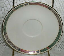 American Bone China Pfaltzgraff Cabouchon Saucer Cup Plate Plates EX
