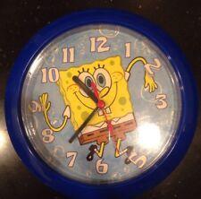 """SpongeBob SquarePants Wall Clock 8.5"""" Aa Battery Operated"""