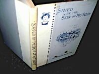 SAVED By the SKIN of His TEETH BY HELEN SHIPTON-EXTREMELY RARE HB