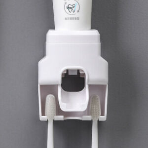 1Pcs Automatic Toothpaste Dispenser Wall Mount Toothpaste Squeezer Holder