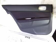 NEW OEM DOOR TRIM PANEL MITSUBISHI LANCER 04 05 06 LH BLACK DARK GREY MR647794