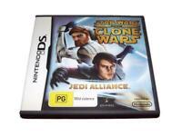 Star Wars The Clone Wars Jedi Alliance Nintendo DS 2DS 3DS Game *Complete*