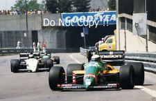 Teo Fabi Benetton B187 Detroit Grand Prix 1987 PHOTO 3