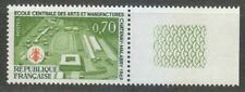 France 1969 MNH Mi 1685 Sc 1258 Central School of Arts & Crafts.Bee.Bees ** Tabs