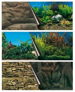 Aquarienrückwand 6 Motive 3 Größen Rückwand Aquarium Fotorückwand Rückwandbild