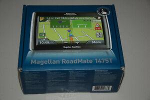 "Magellan RoadMate 1475T Automotive Car GPS Navigator 4.7"" Touch Screen Mountable"