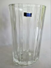 More details for waterford 'marquis' oval cut glass vase with box