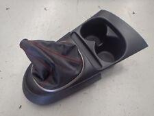Honda Integra DC5 Type R Manual Shifter Surround Trim + Boot Red Stitch #1