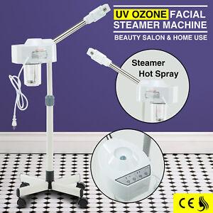 Professional UV Hot Ozone Facial Steamer Beauty Salon Spa Skin Care Equipment