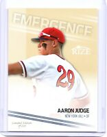 "AARON JUDGE 2013 LEAF ""LIMITED EDITION OF 200"" GOLD PARALLEL ROOKIE CARD!"