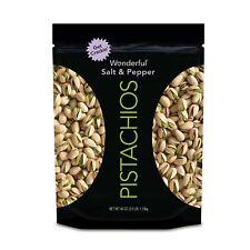 Wonderful Salt and Pepper Pistachios (40 oz.)