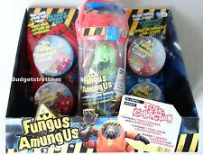 Fungus Amungus Red Toxic Chamber and 4 Petri Dishes Set - RARE