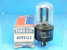 Tung Sol 50Y6 Gt Vacuum Tube Nos Nib Valvola Röhre Valve Single