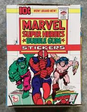 Marvel Super Heroes Bubble Gum Stickers - Topps 1976