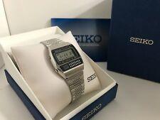 Seiko C359-5000 Calculator Chrono Alarm  Quartz LCD Vintage Collectible Watch