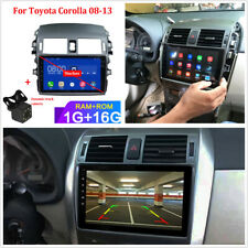 9'' Quad-core 1+16GB Multimedia Player GPS Navigation For Toyota Corolla 2008-13