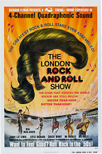 "The London Rock n Roll Show Bill Haley etc 16"" x 12"" Photo Repro Concert Poster"