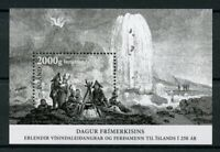 Iceland Stamps 2017 MNH Day of Stamp 250 Years of Exploration Expedition 1v M/S