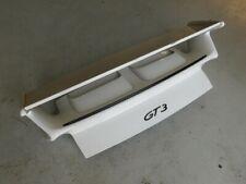 Porsche 911 997 GT3 2008 Rear Engine Deck Lid + Wing Spoiler OEM J130