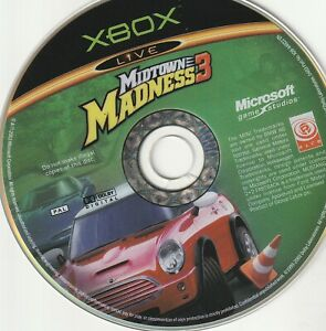 Xbox Game -  Midtown Madness 3 (Disc Only)
