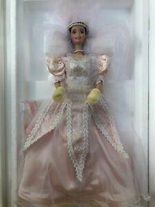 """BLUSHING ORCHID BRIDE"" BARBIE - PORCELAIN LIMITED EDITION by MATTEL® 1996 NIB"