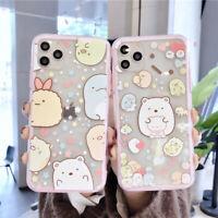 For iPhone 11 Pro XS MAX XR 7 8+ Cute Japanese cartoon Sumikkogurashi phone Case