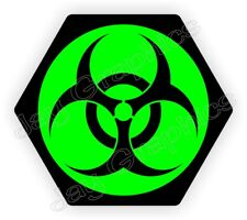 Bio Hazard Symbol Hard Hat Sticker Radioactive Biohazard Helmet Decal Biohazard